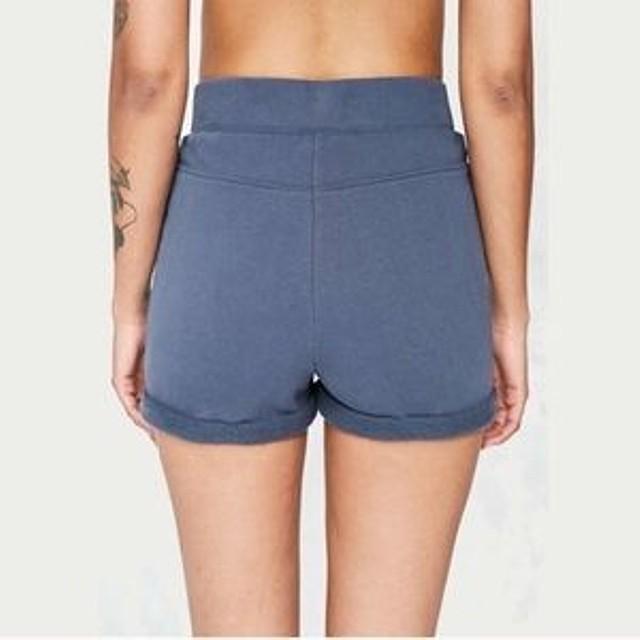09ce59997d BDG Womens High Waist Lace Up Sweat Shorts Blue S New | eBay