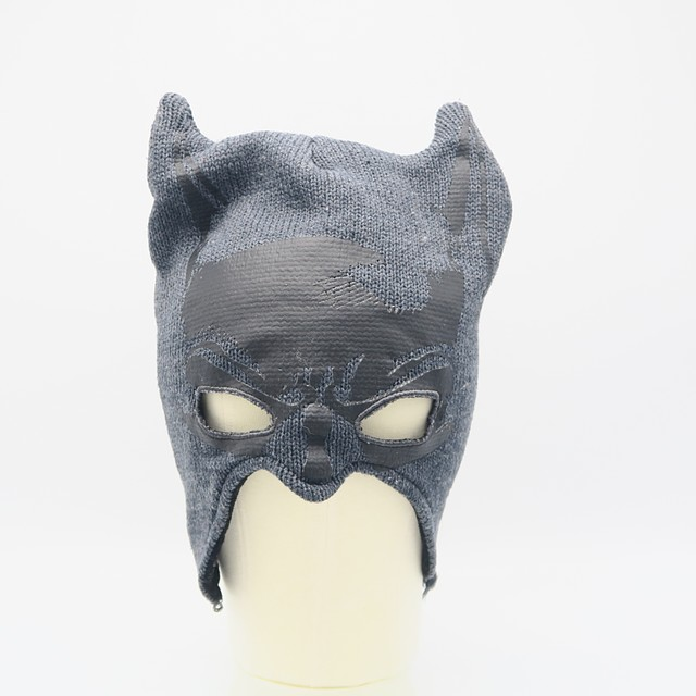 Bat Man Winter HatOne Size