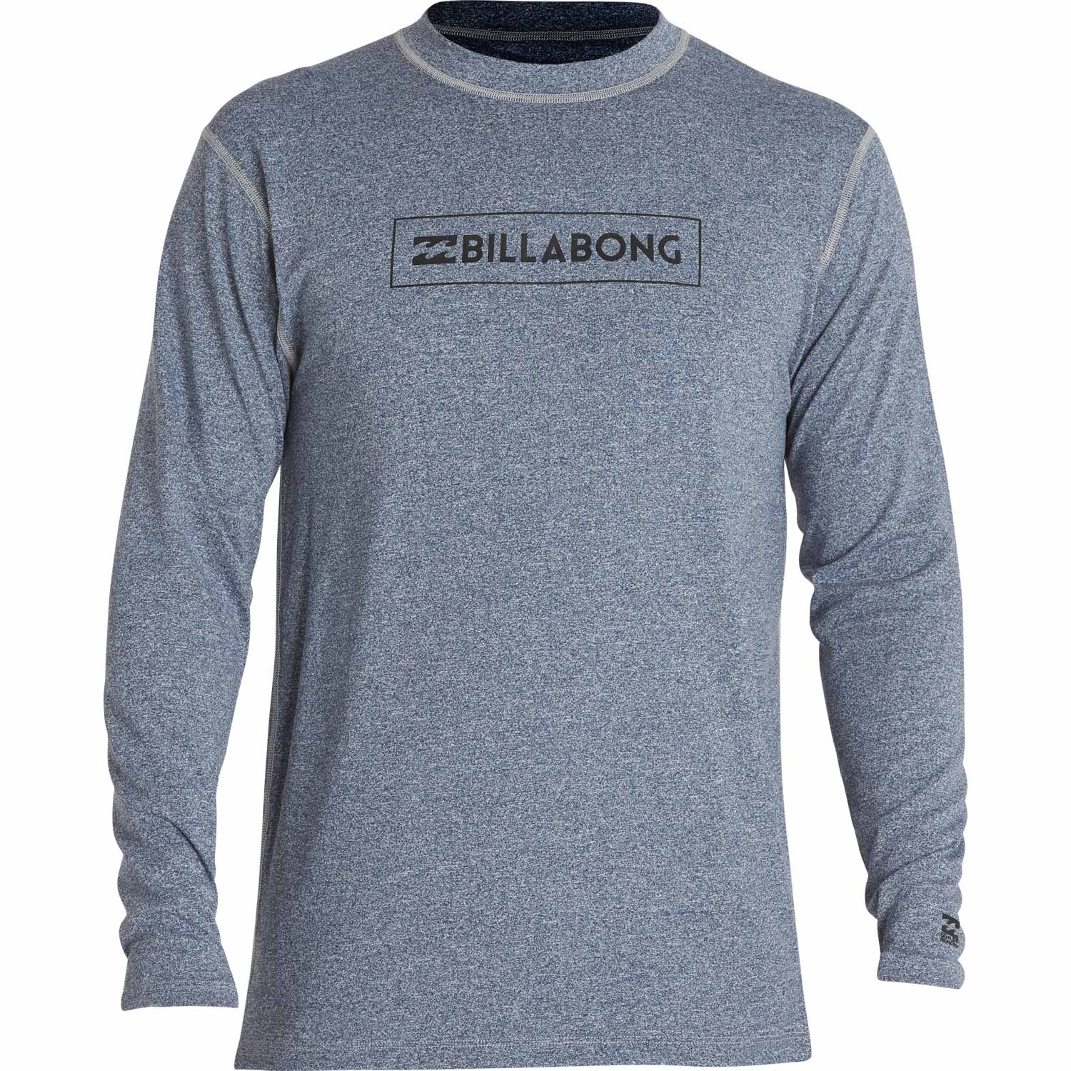 All Day Unity LF L/S - Blue HeatherMens - Flying Point Surf
