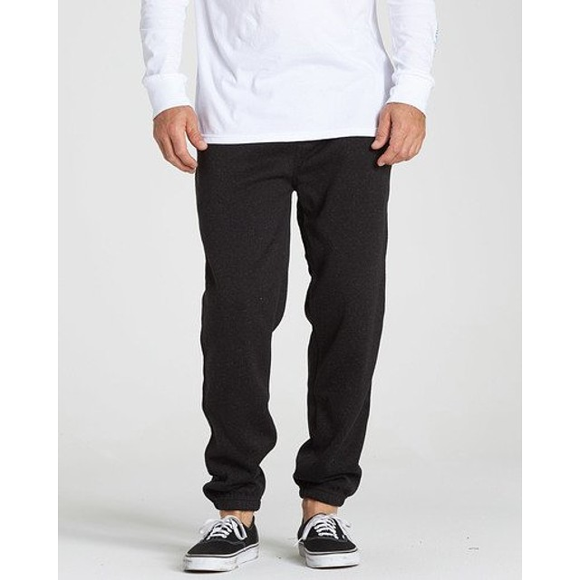 Billabong Boundary Fleece Pant Black Heather
