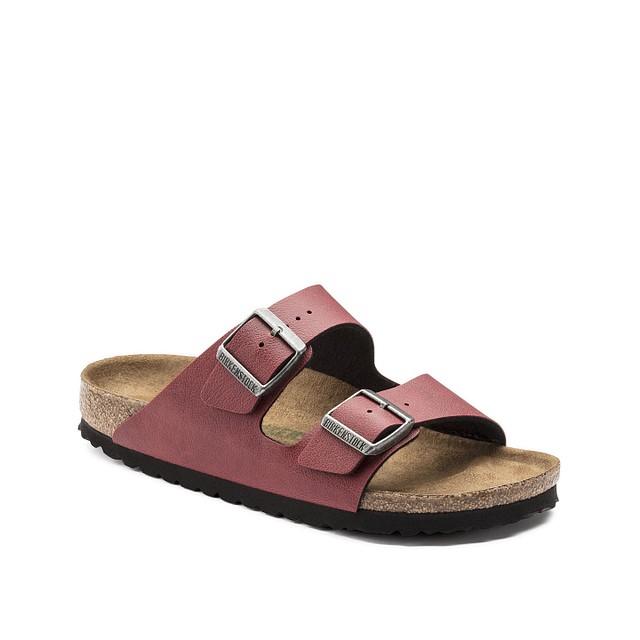 037c4fe8c524 Birkenstock W s Arizona Birko-Flor Sandals Pull Up Bordeaux Size 41 ...