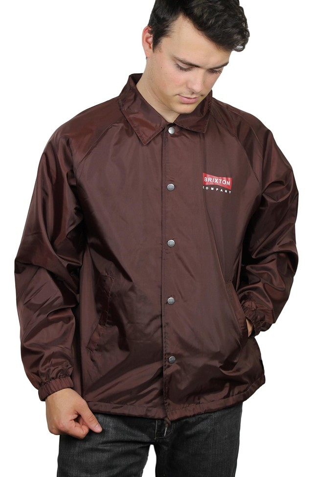 bdcdfad21 Brixton Mens Wedge Jacket Chestnut M New 999998093142 | eBay