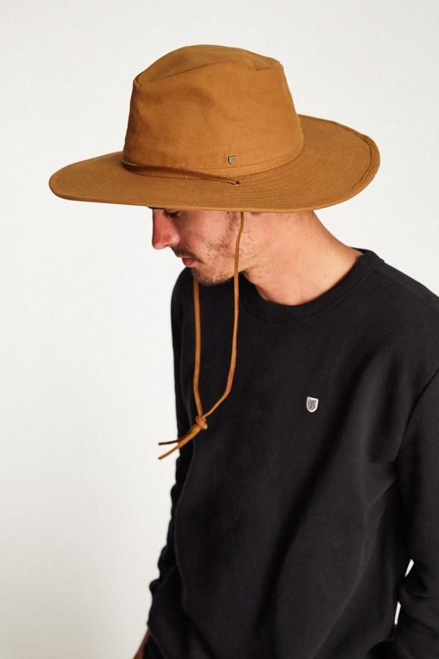 Brixton Unisex Ranger II Sun Hat Copper M New 999998084577  5c680ae9744