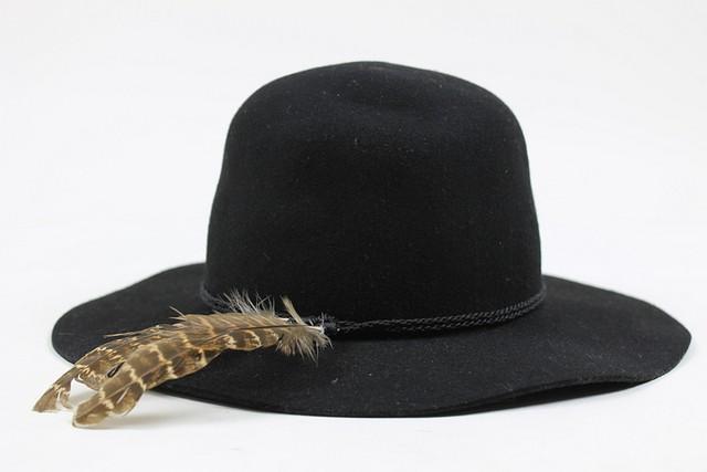... Brixton Womens Sol Fedora Wool Sun Hat Black ... 5290d3b85d7
