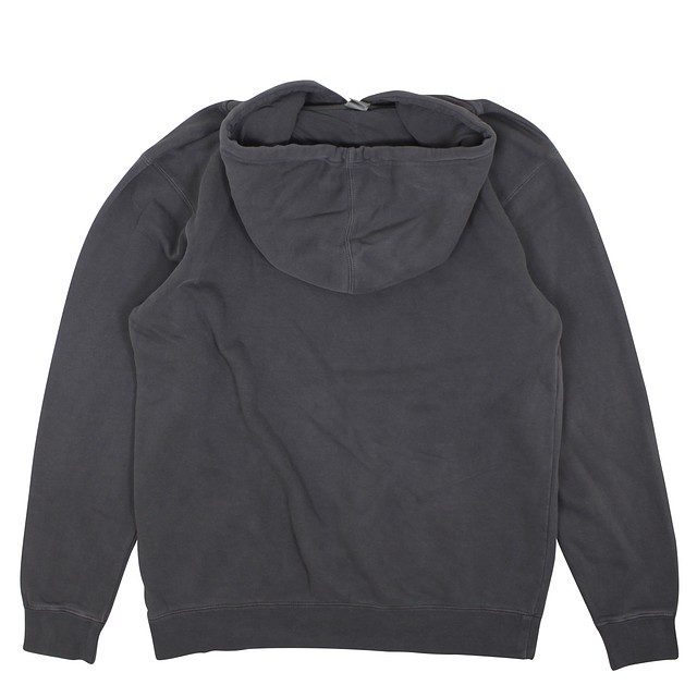 Flying Point Pigment Dyed Hoodie - Black