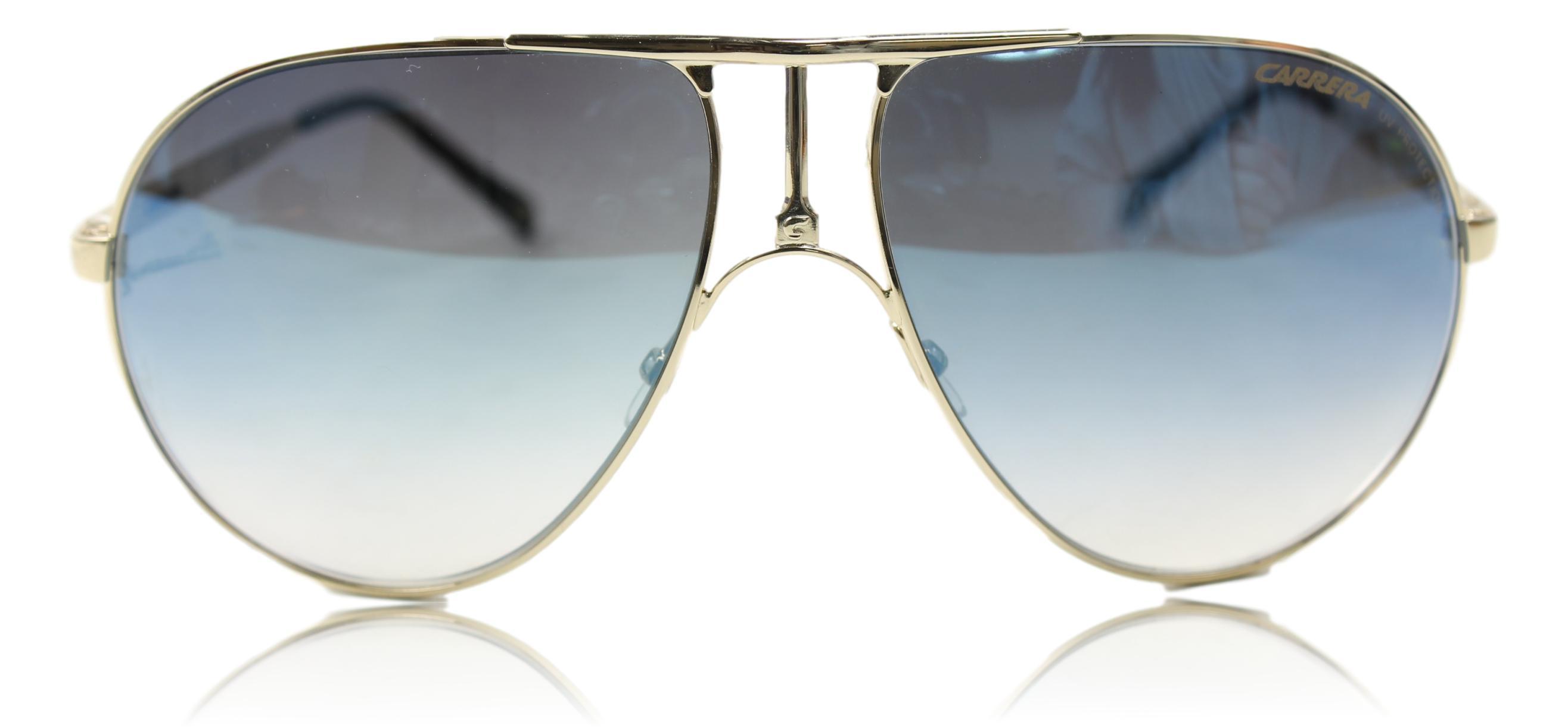 unisex 1 aviator sunglasses gold one size