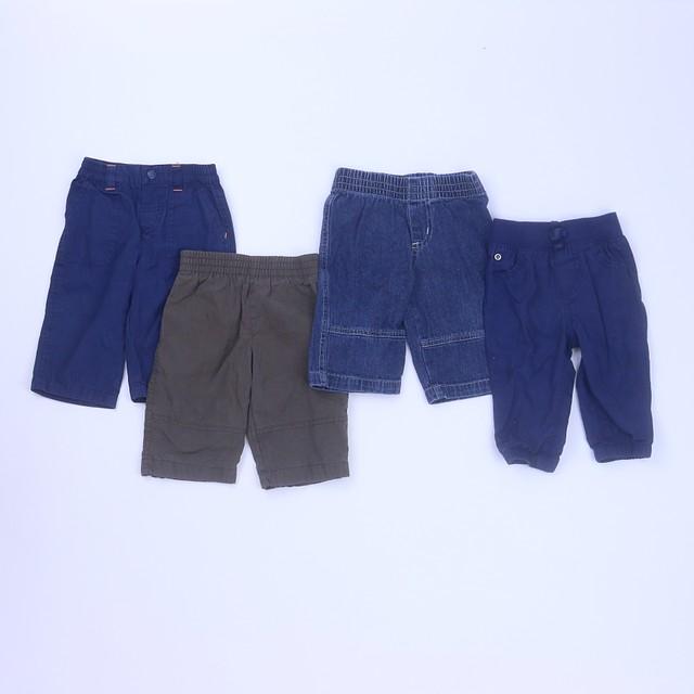Carter's | Disney | MiniwearSet of 4 Pants3-6 Months