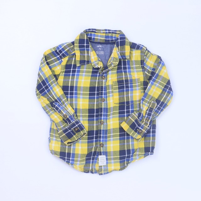 Carter's Button Down Long Sleeve2T