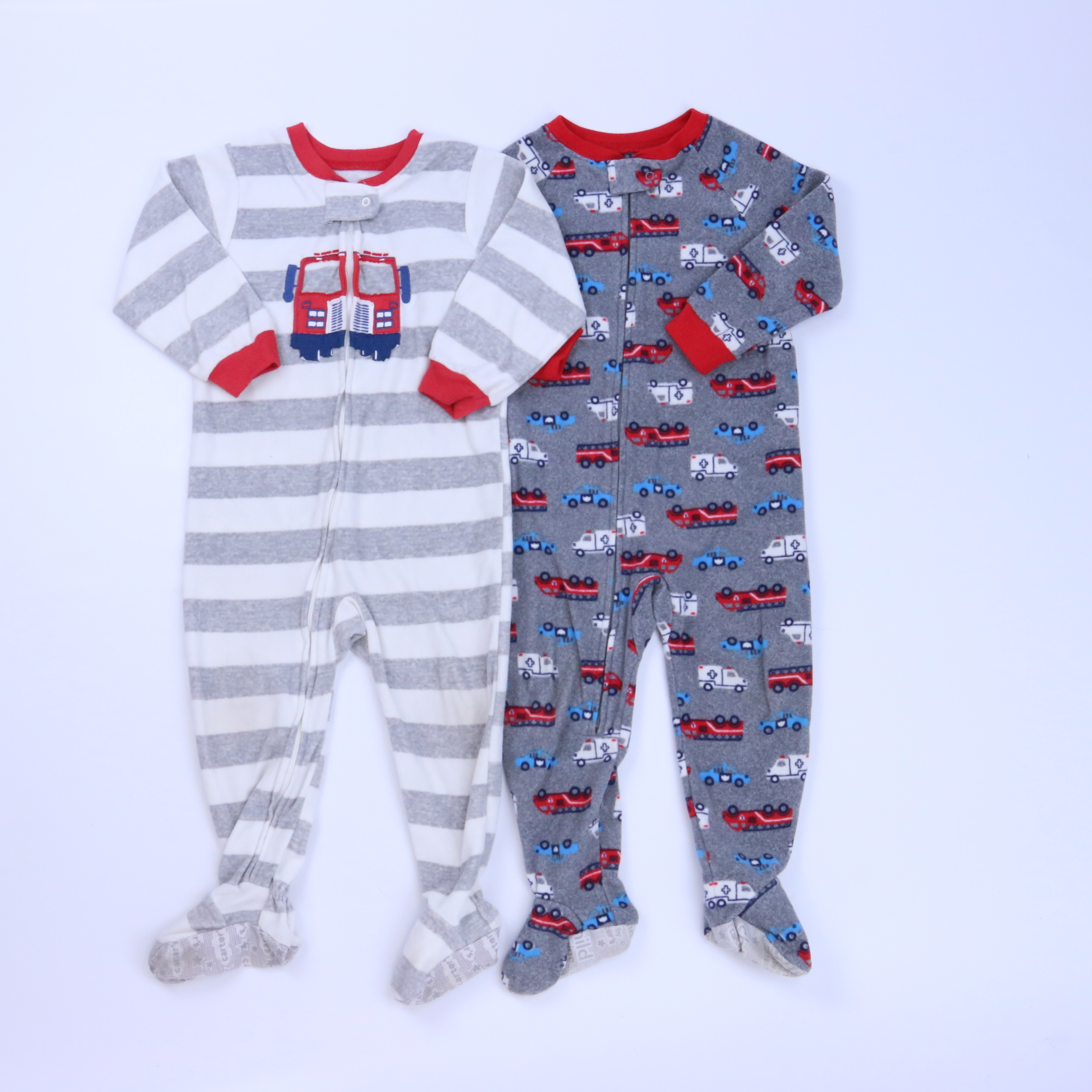 5bf3a85146d7 Set of 2 1-piece footed Pajamas size  2T - The Swoondle Society