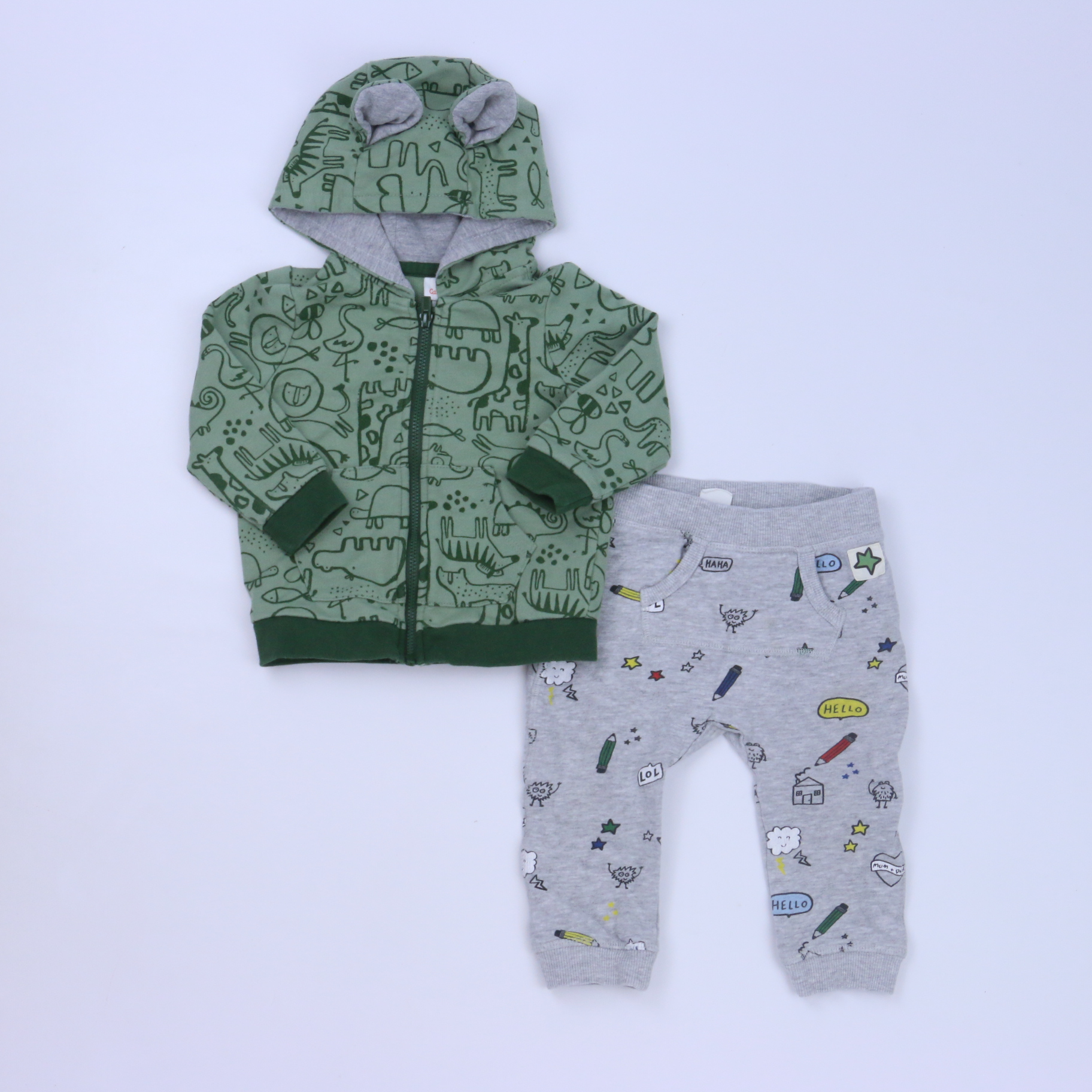 7393b1233 2-pieces Apparel Sets size: 6-12 Months - The Swoondle Society