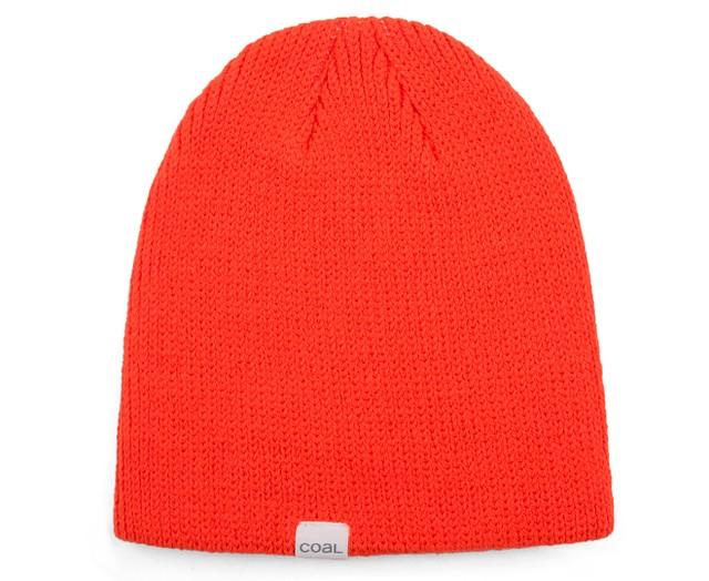Coal Mens The FS Beanie Hat Fluorescent Orange One Size New  15268bf1391