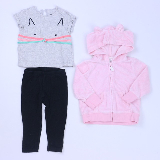 ad05a9cbf Cotton on Kids | Carter's 3-pieces Pink | Gray Apparel Sets 3-9 Level 2 or  $12.00