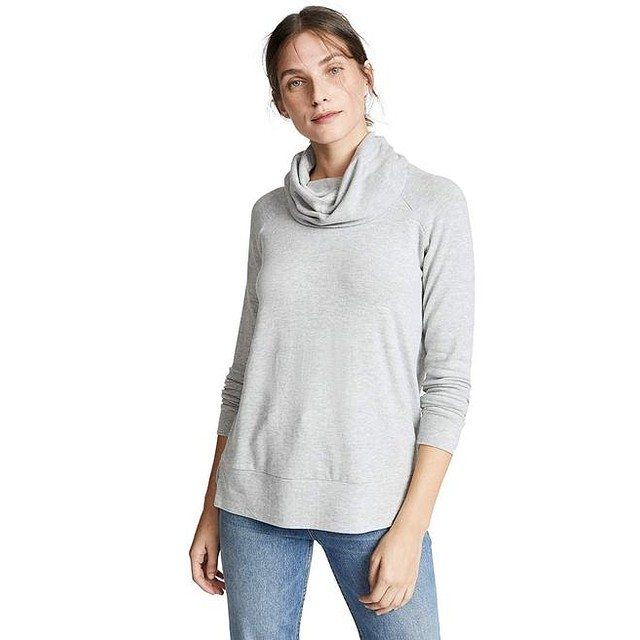Cupcakes and Cashmere Luca Light Heather Grey