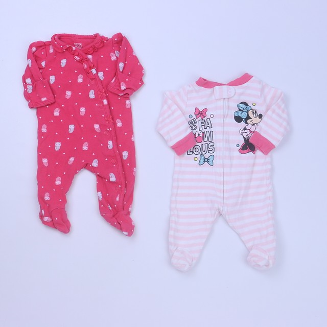 Disney | Carter'sSet of 2 Long Sleeve Outfit0-3 Months