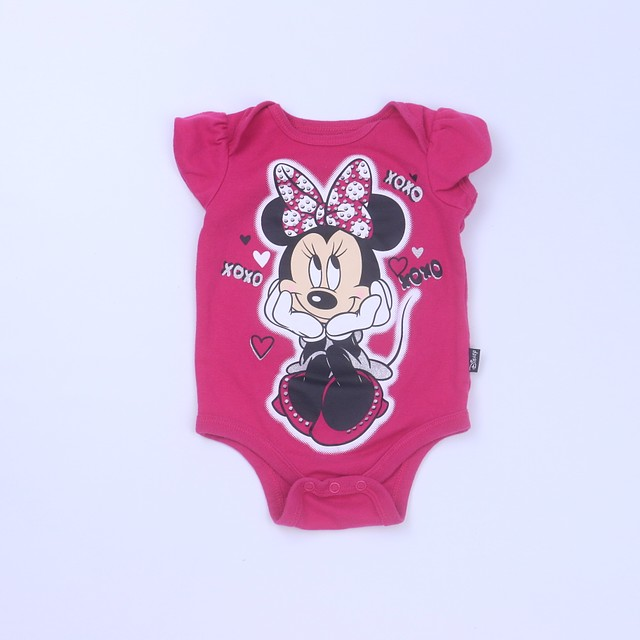 "Disney ""Minnie Mouse"" Onesie3-6 Months"
