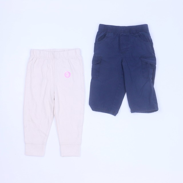 0960490a40cd1 First Impressions | Koala Set of 2 Navy | Tan Pants 6-12 Months