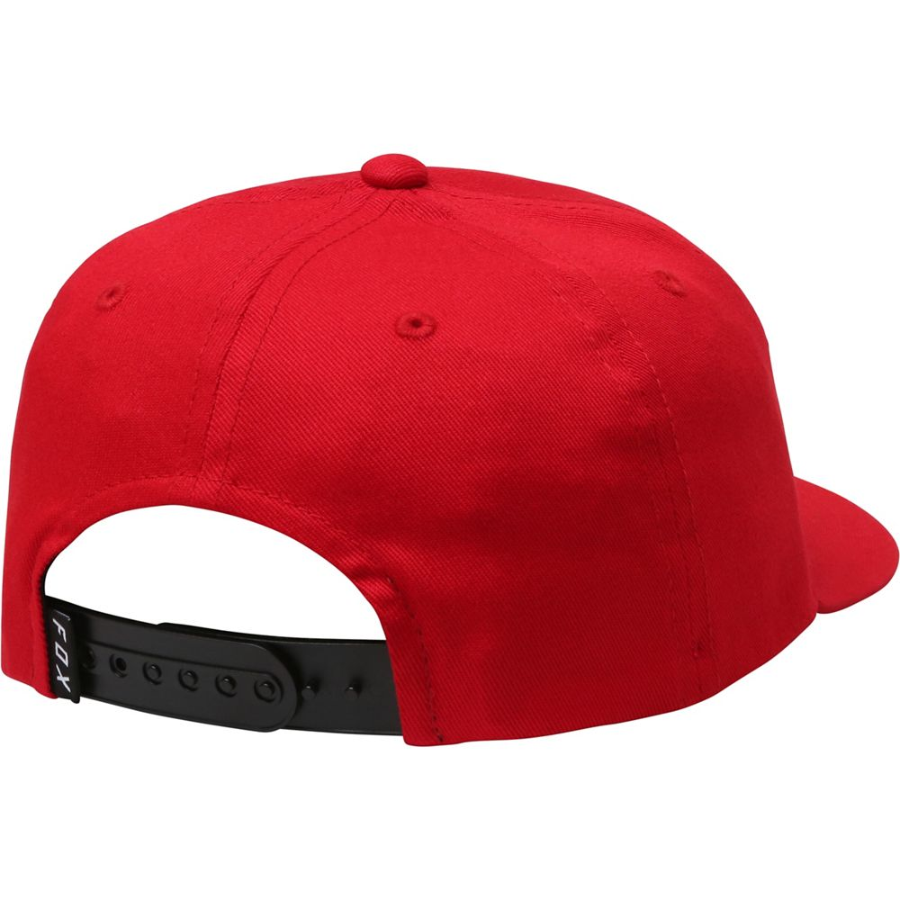 87b7592f2d5 Fox Youth Epicycle 110 Snapback Baseball Hat Red One Size New