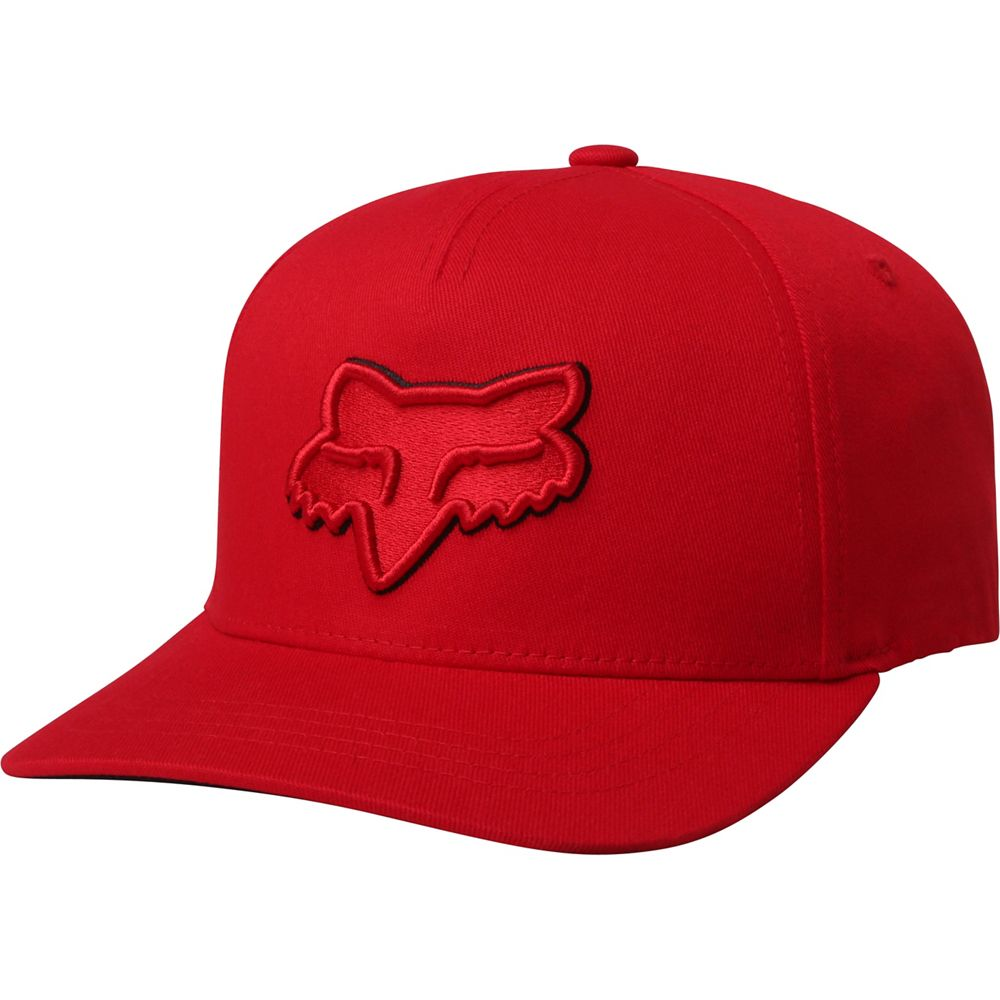 a9e8c9c4d34 Image is loading Fox-Youth-Epicycle-110-Snapback-Baseball-Hat-Red-