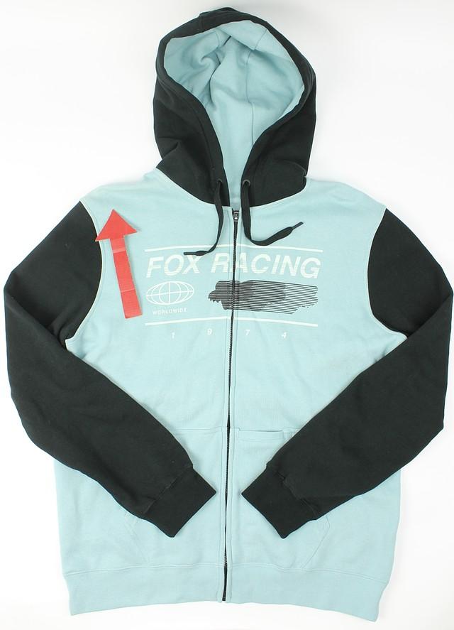 Fox Mens Tracer Zip Fleece