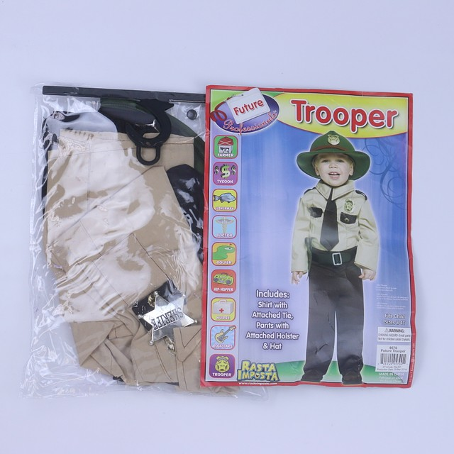 <h1>3-pieces Costume</h1> <h2>size: 3-4T</h2>