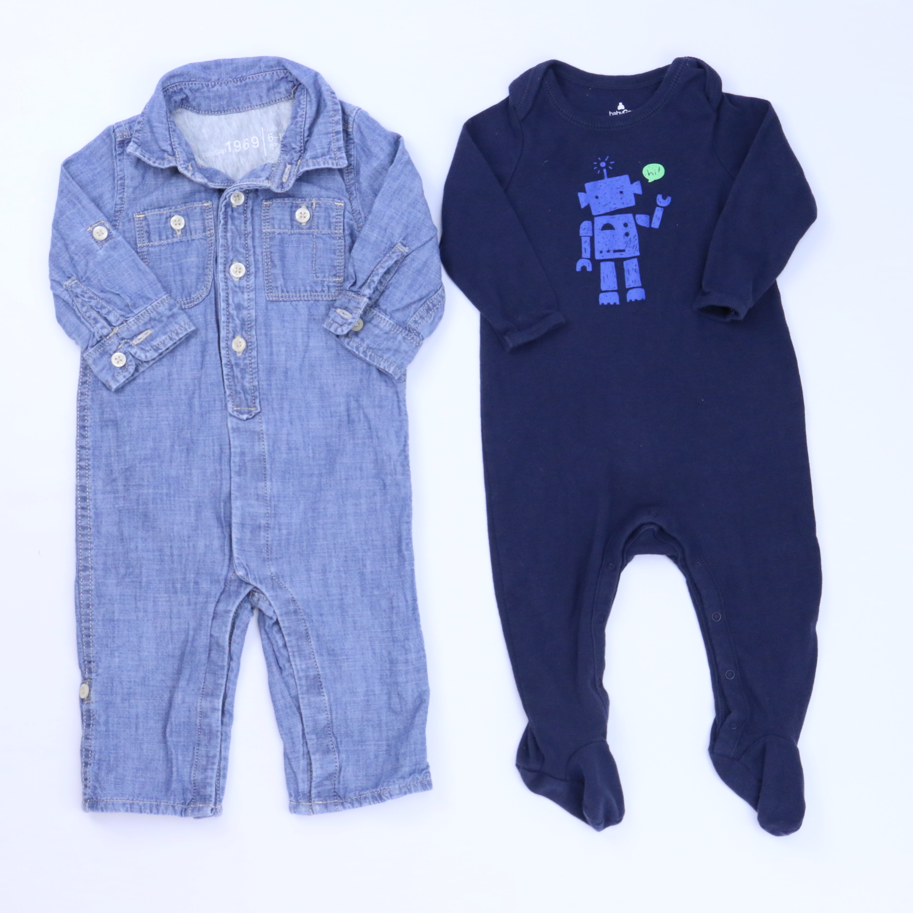 b6a0c2e3b Set of 2 Long Sleeve Outfit size: 6-9 Months - The Swoondle Society
