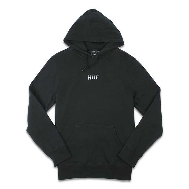 HUF Mens Classic H Pullover Fleece