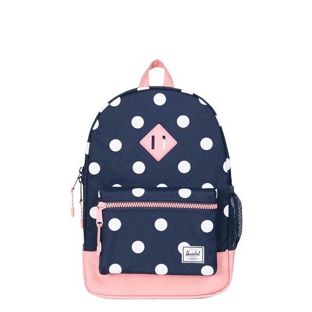 cadd039f2b  49.99 ·  p Herschel Heritage Youth Backpack Peacoat Polka Dot  Strawberry  ...