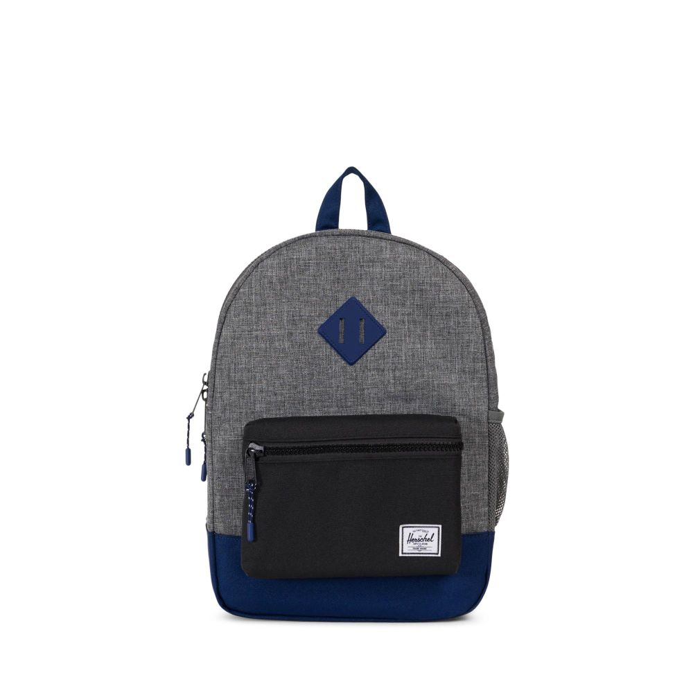 Heritage youth backpack raven crosshatchblackblueprint rubber heritage youth backpack raven crosshatchblackblueprint rubber malvernweather Image collections