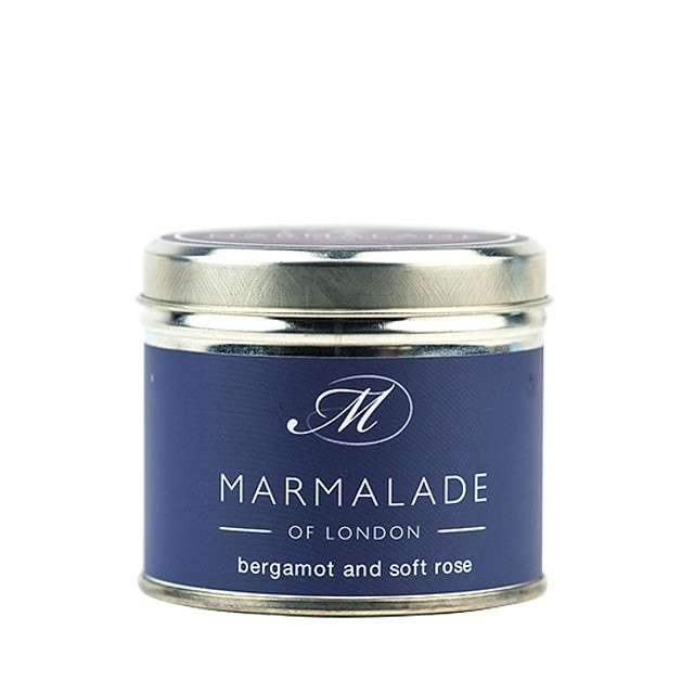 Marmalade of London Medium Tin Bergamot & Soft Rose