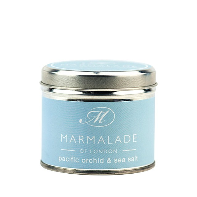 Marmalade of London Medium Tin Pacific Orchid & Sea Salt