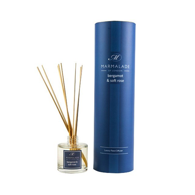 Marmalade of London Reed Diffuser Bergmot and Soft Rose