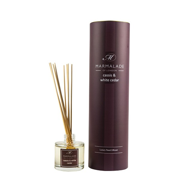 Marmalade of London Reed Diffuser Cassis and White Cedar