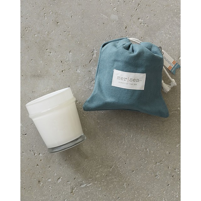 Mer Sea Sandbag Candle Splendide