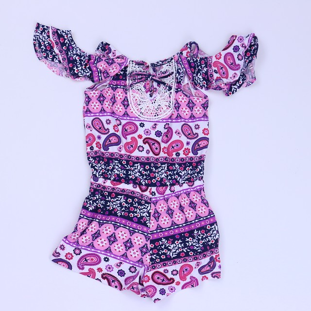 NWT Nannette Daisy Black White Tunic /& Leggings Girls Outfit Set 2T 3T 4T 5 6