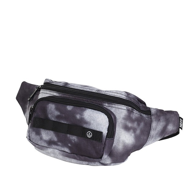 Neff Waist Pack Black Bleach