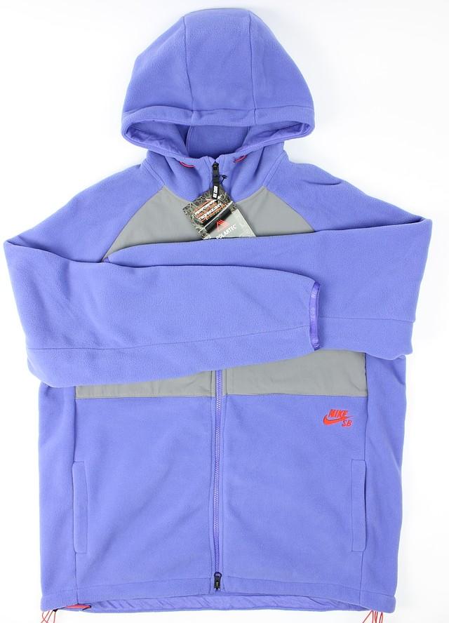 nike hoodie violet