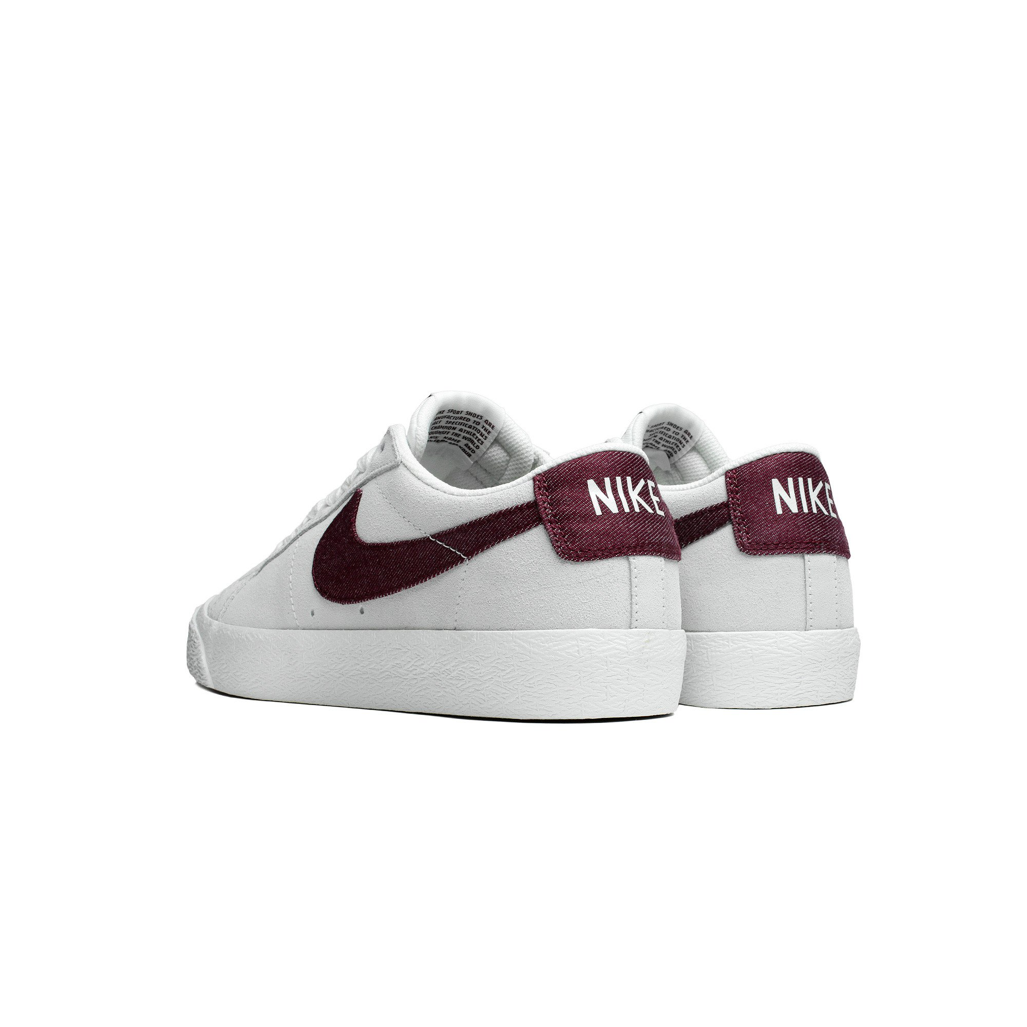 factory outlet low priced san francisco SB Zoom Blazer Low - Summit White/ Dark Team RedMens ...