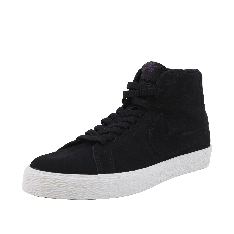 9ecd44143355 ... sale footwear mens sneakers sb zoom blazer mid decon black pro purple  00b4d 55e92
