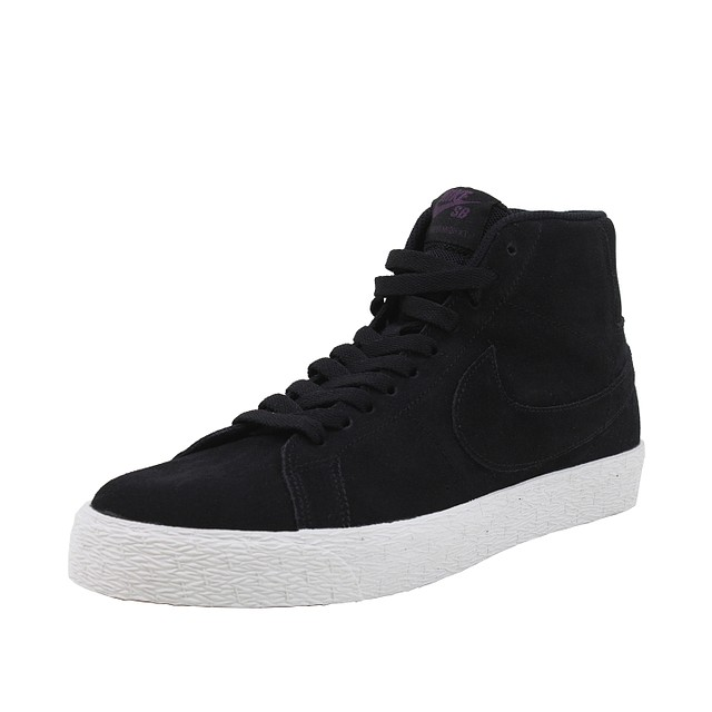 Nike SB Zoom Blazer Mid Decon Black Pro/Purple