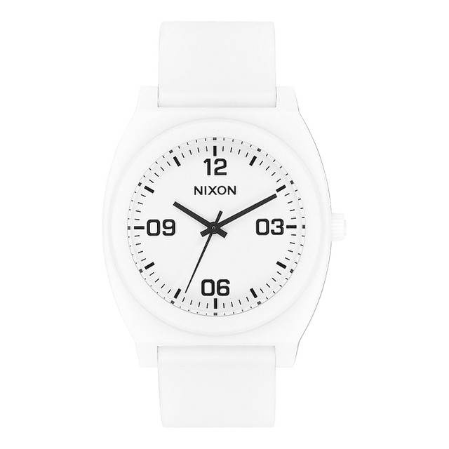 Nixon Time Teller Corp P Matte White / Black