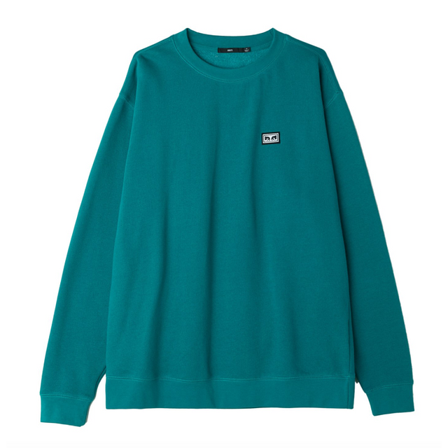 Obey All Eyez Long Sleeve Teal