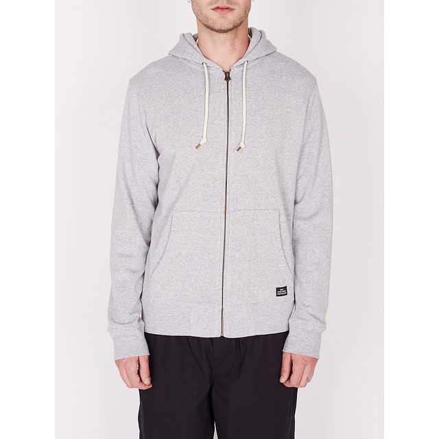Obey Lofty Comforts Hood Athletic Heather Grey