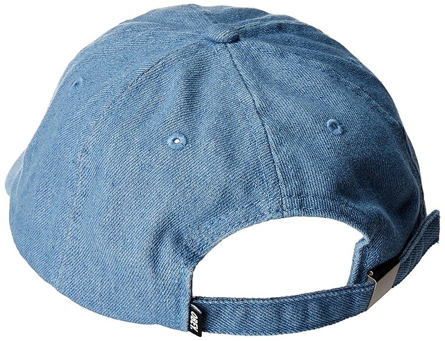 7d134d15723 Obey Mens Filton 6 Panel Snapback Hat Light Denim One Size New ...
