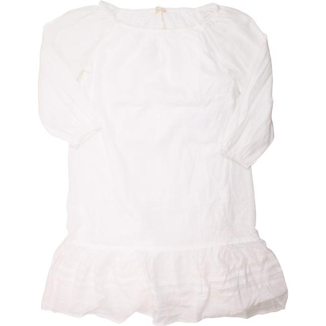 Mystree Off Shoulder Pleated Skirt Off White