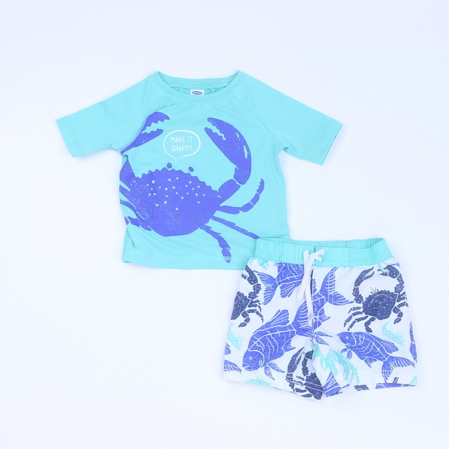 Old Navy2-pieces 2-piece Swimsuit6-12 Months