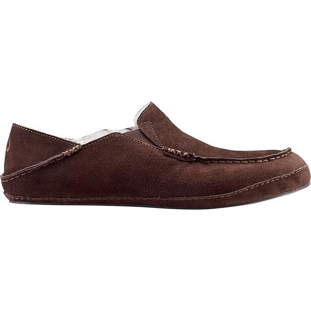 51b47f2be41 Olukai Mens Moloa Slipper Slip Ons Dark Java Size 8 New