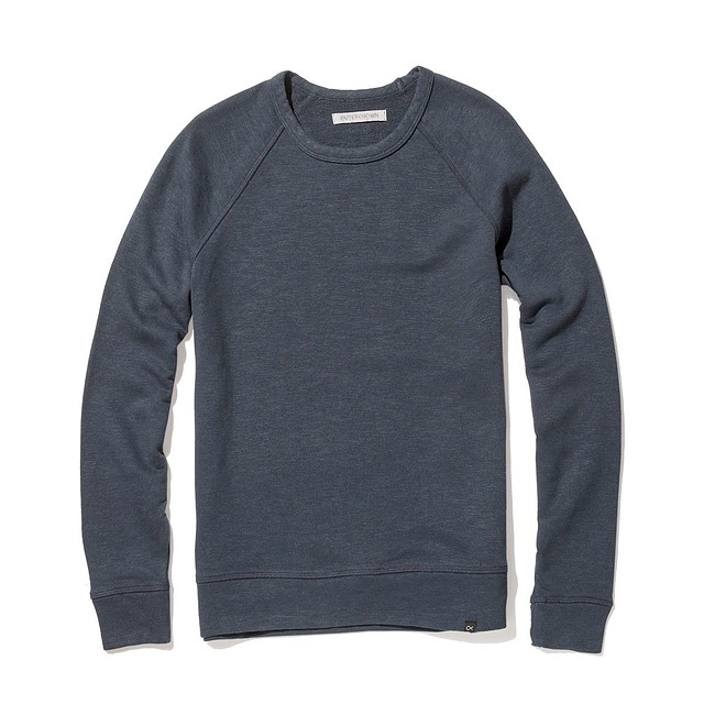 Outerknown Sur Sweatshirt Deep Blue