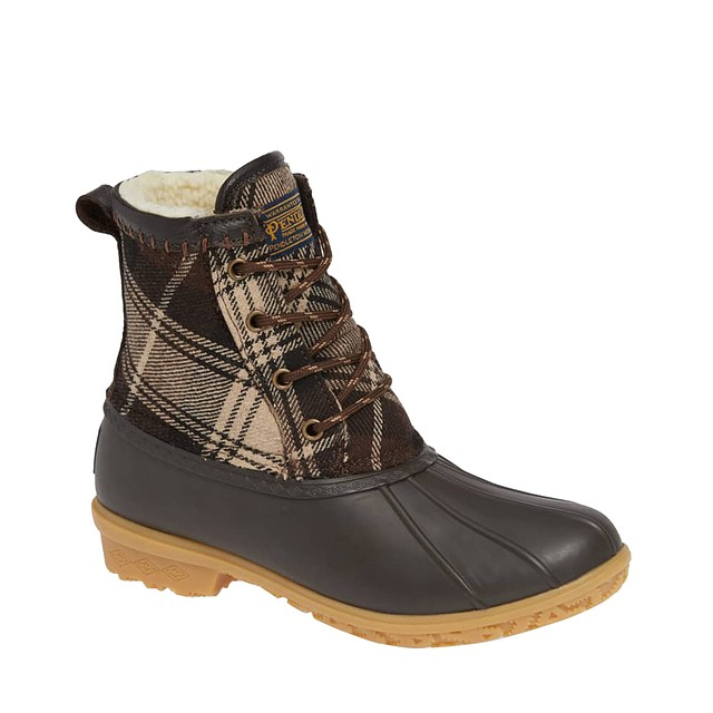 Pendleton Heritage Plaid Duck Brown