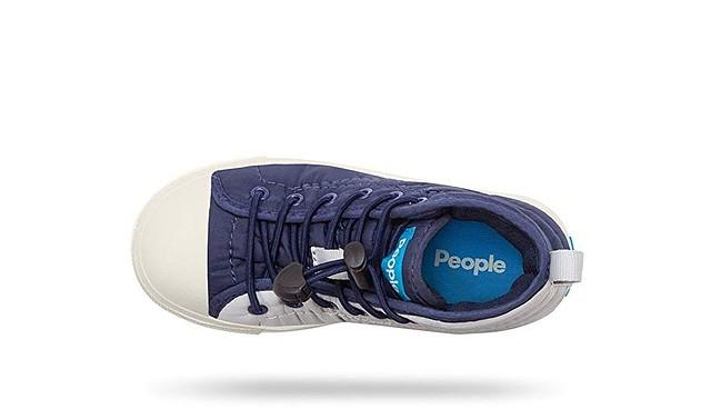 People Footwear Phillips Puffy Junior Sneakers Skyline Grey// Mariner Blue Boys 2