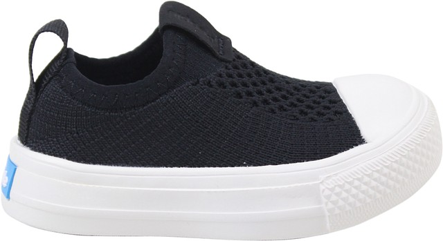 People Footwear Toddler Boys Phillips Knit Sneakers Really Black// Picket White 6